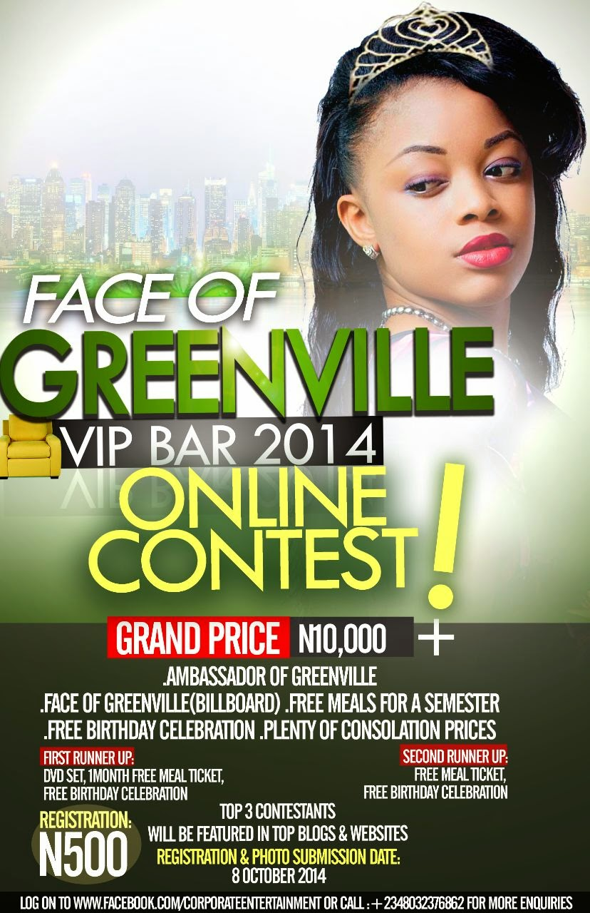 Face Of GreenVille VIP Bar