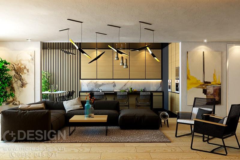 Thiết kế nội thất căn hộ chung cư Era Town