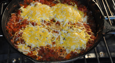 photo of eggs in purgatory recipe