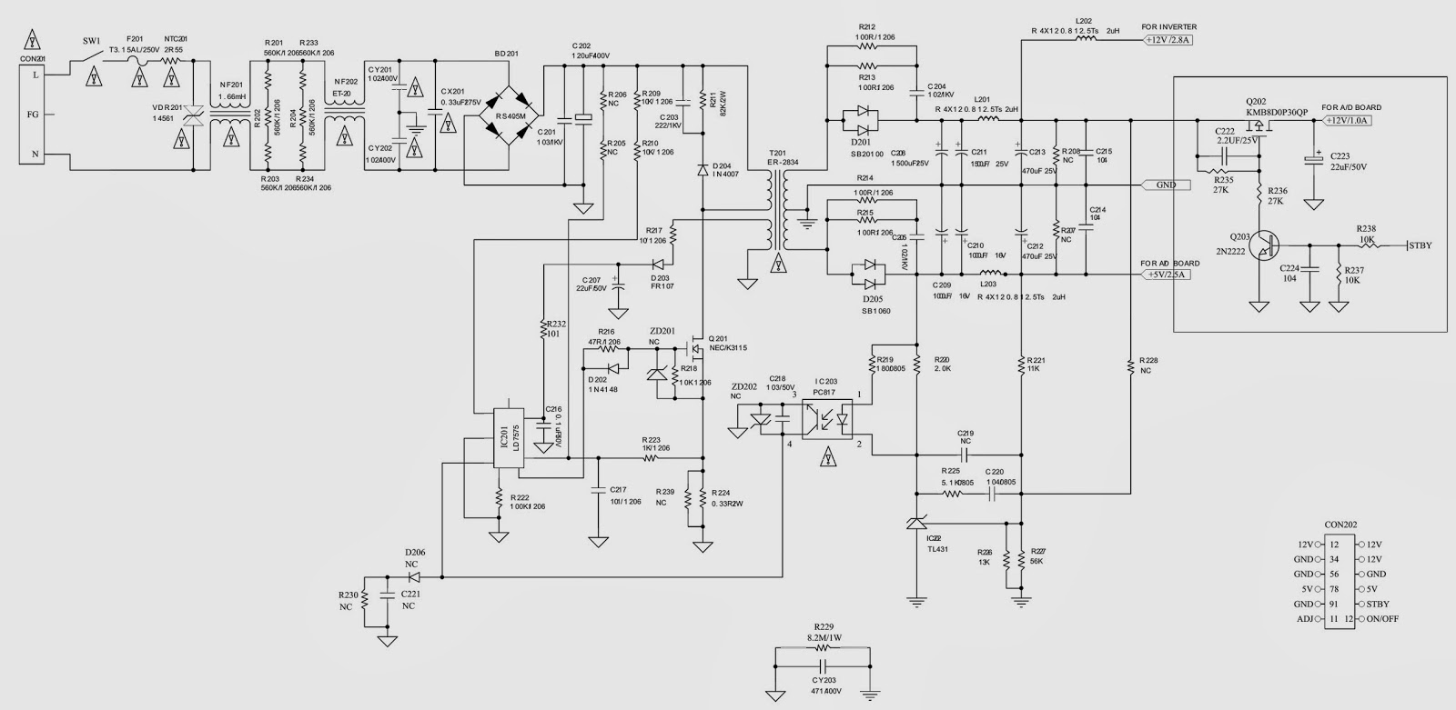 Toshiba Plasma Tv Problems likewise Mp123t Ch Smps Schematics Smps in addition Power Supplies in addition Lct 20kx01lst Akira Lcd Tv Back Light likewise How Lcd Works Diagram. on lcd tv power supply schematic diagram