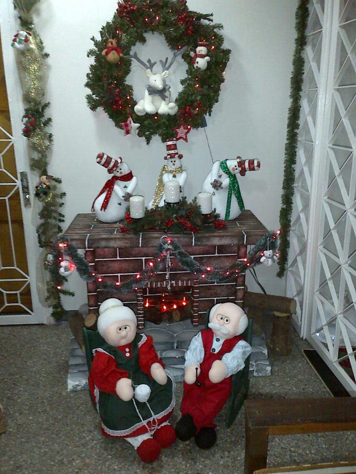 Muñecos navideños: febrero 2013