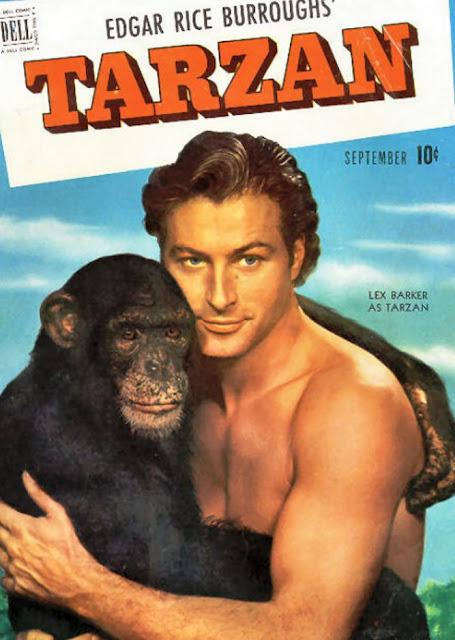 """CLUBE DOS """"ENTAS"""" DE CATANDUVA: Lex Barker , o Tarzan dos ..."""