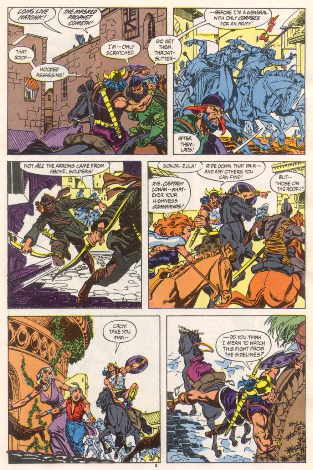 Conan the Barbarian (1970) Issue #246 #258 - English 4