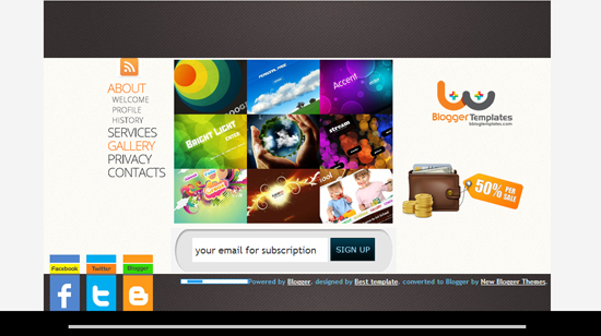 Coming Soon Blogger Template
