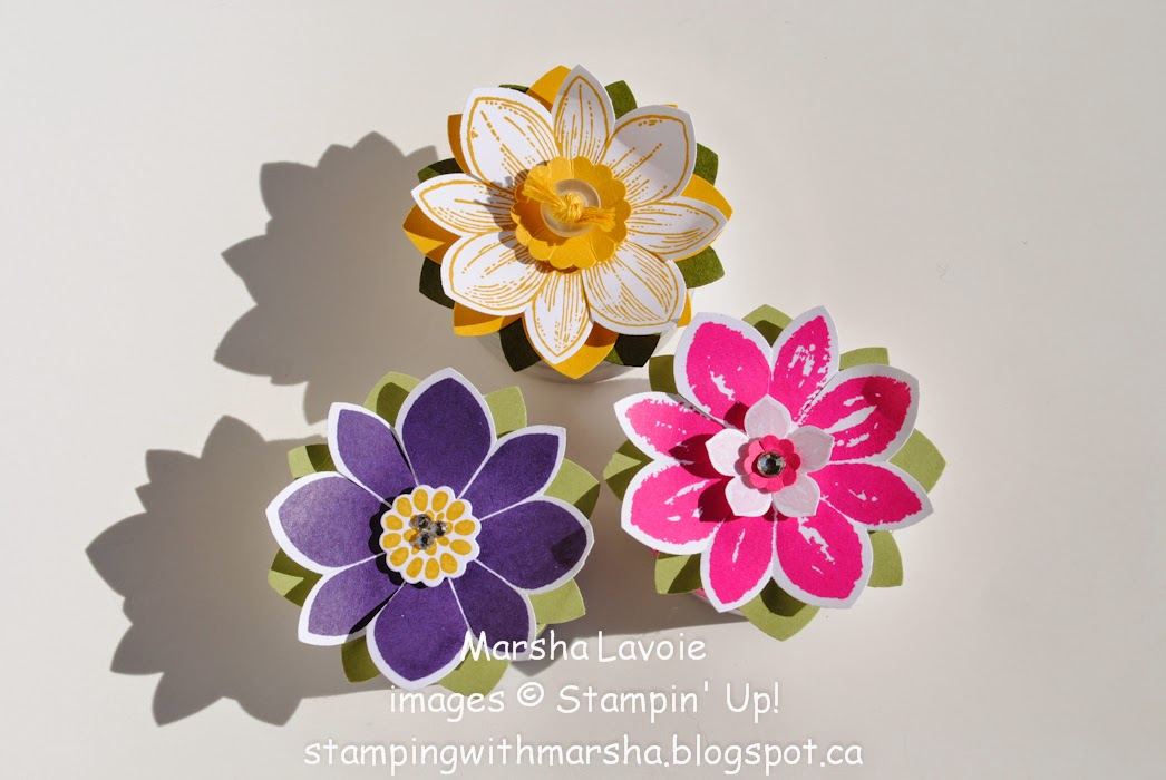 tea light holder stampin up