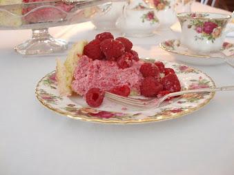 Raspberry Cream Charlotte