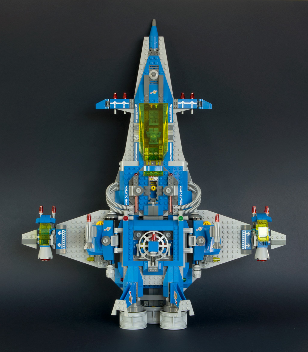 benny u0027s neo classic space ship new elementary a lego blog of parts