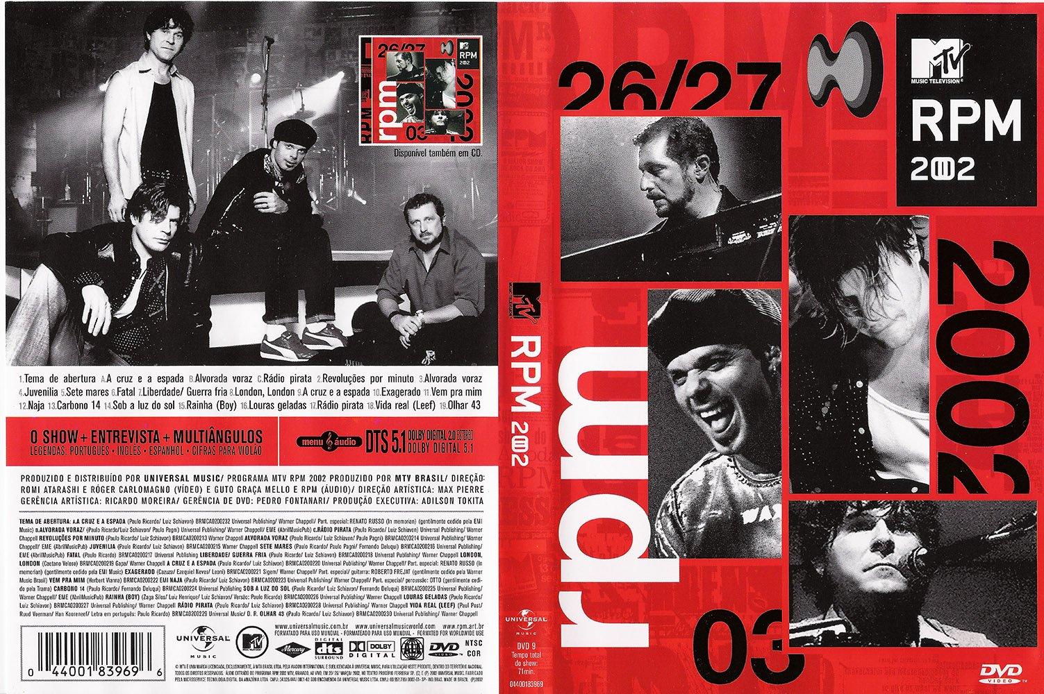 Download RPM MTV Ao Vivo DVD-R RPM  XANDAO DOWNLOAD