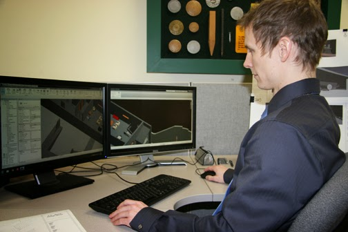 Kris Brons uses Revit, a building information modeling software