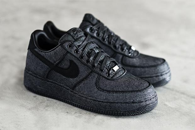 Nike Air Force 1 Black Low Tumblr