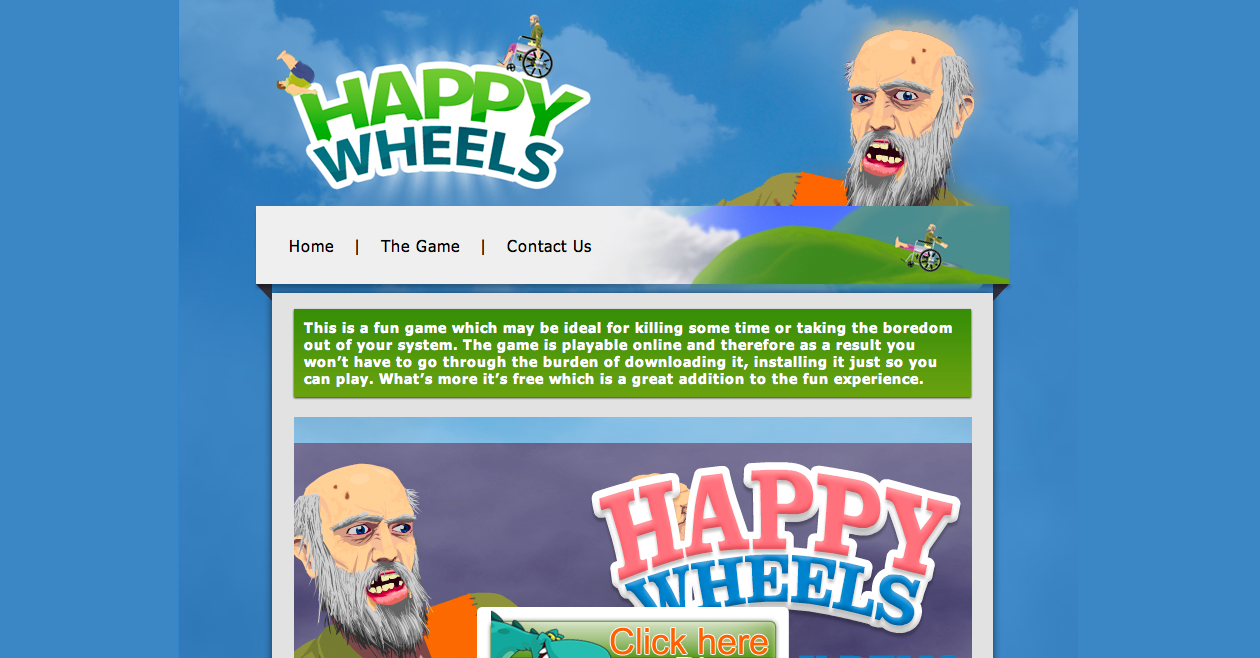 Total Jerkface Happy Wheels Characters Happy Wheels Total Jerkface