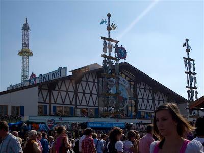 Entrada de Bräurosl - Oktoberfest de Munich