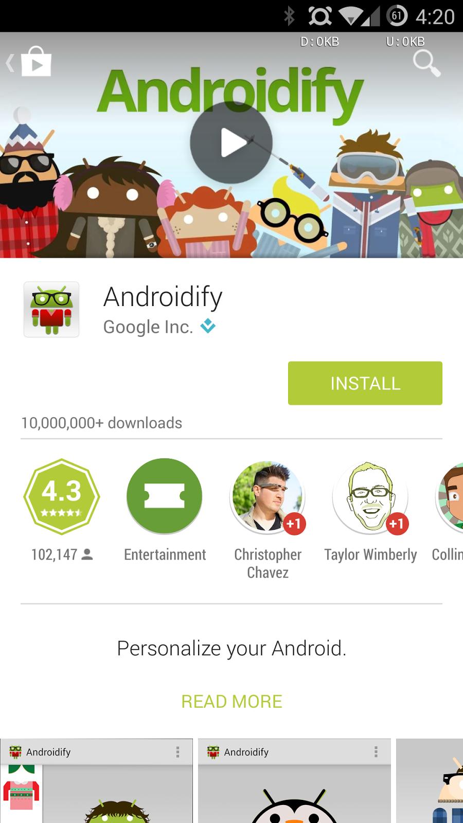 Halaman Aplikasi Play Store Terbaru