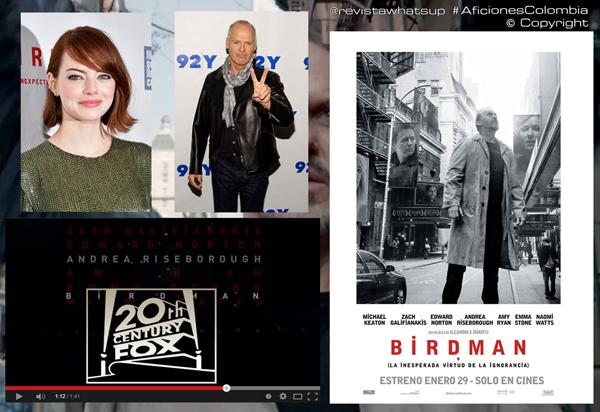Nominaciones-Birdman-La-Inesperada-virtud-de-la-Ignorancia-premios-oscar