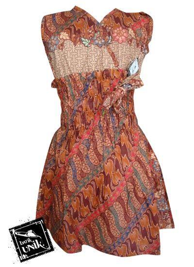 Model Baju Batik Modern Untuk Perempuan