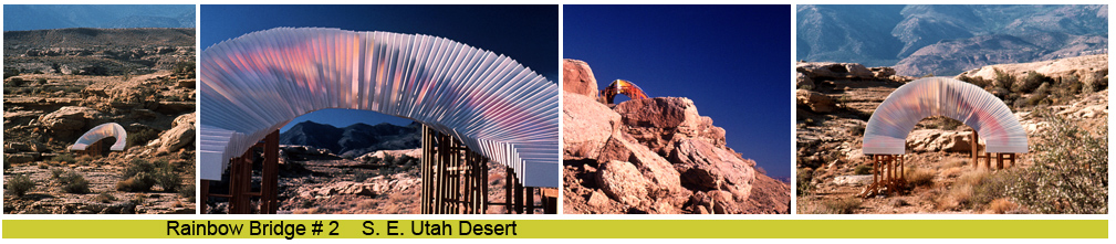public art, sculpture desert light reflection remote  environmental land