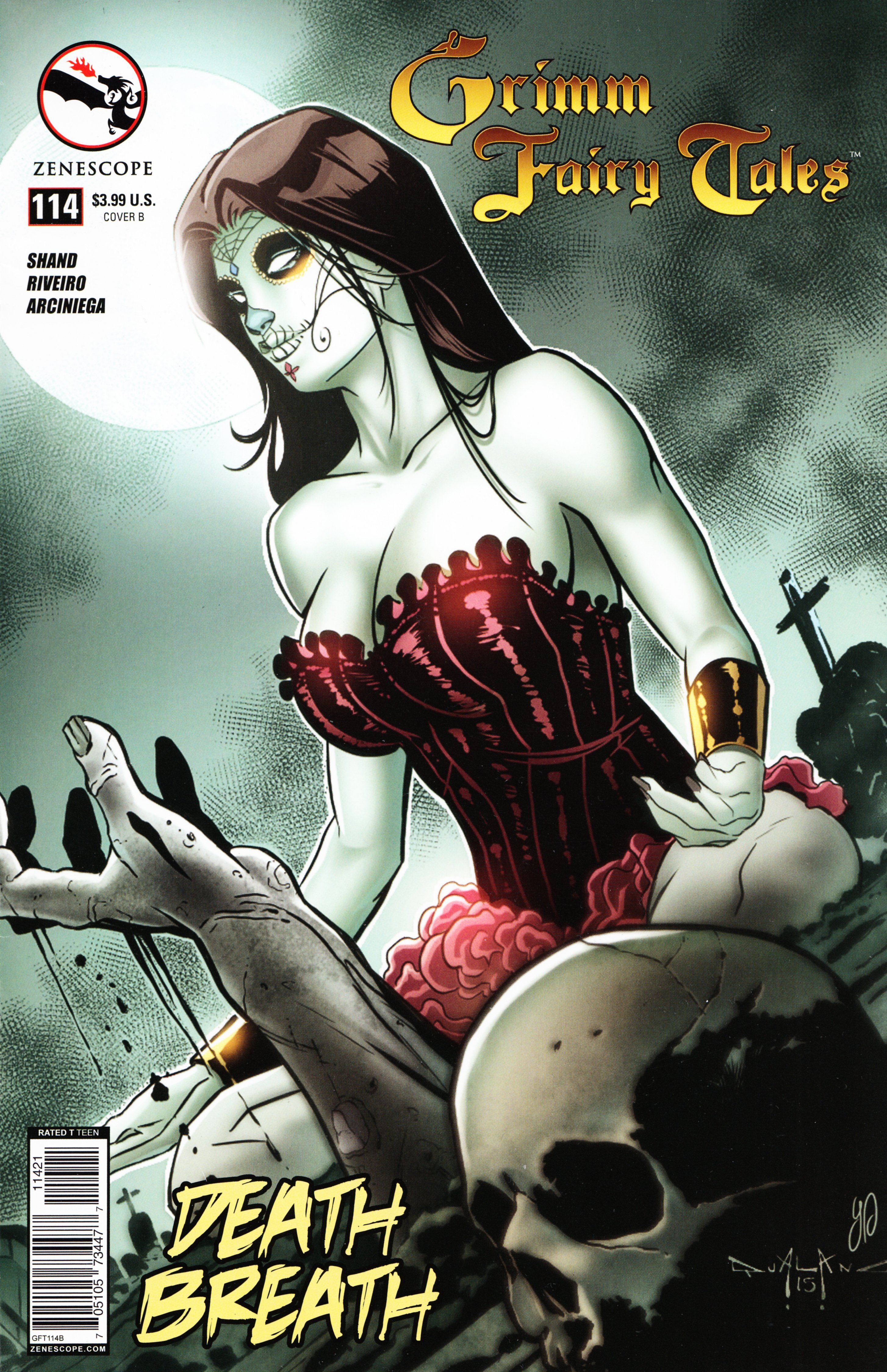 Grimm Fairy Tales (2005) Issue #114 #117 - English 2