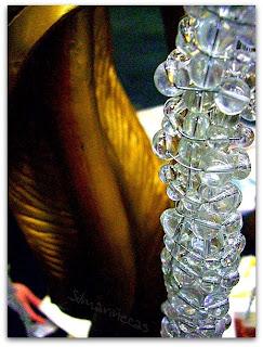 Lámpara vintage en la feria de desembalaje 2013 en el BEC-