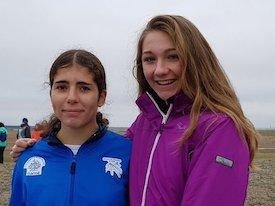 Mínimas de Andrea Jiménez y Alejandra Hernández para el nacional juvenil de pista cubierta
