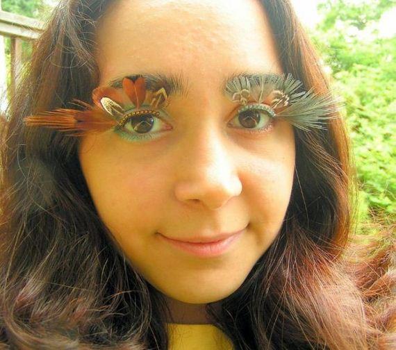 Girls Eyelash Decoration