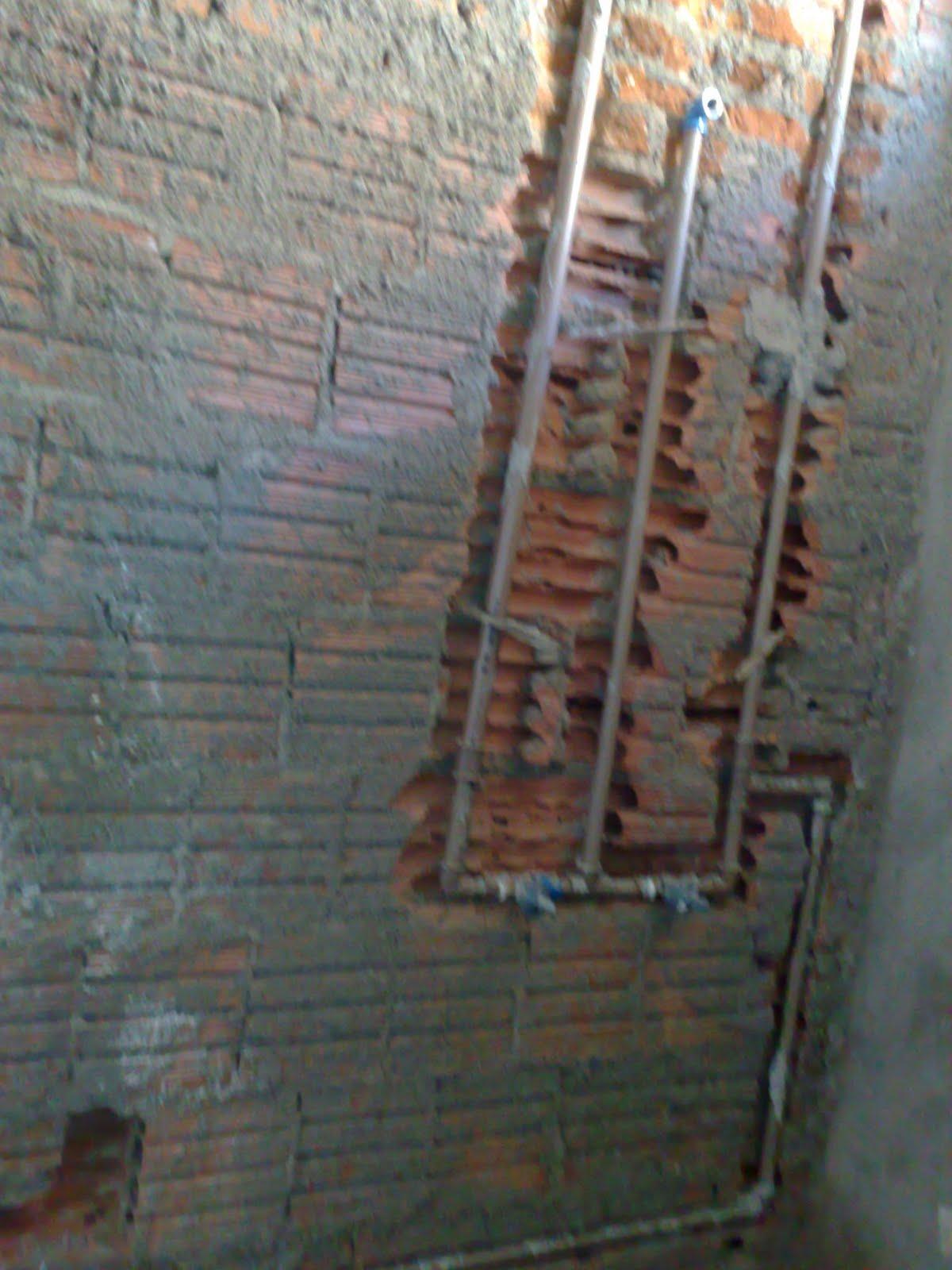 Passo a passo da construção da minha primeira casa: encanamento #7E684D 1200x1600 Banheiro Com Cheiro De Esgoto O Que Fazer