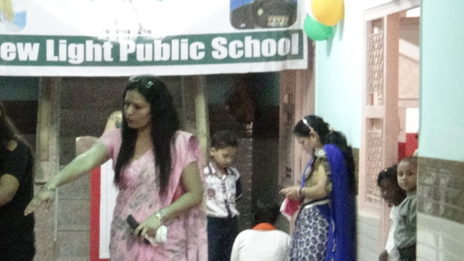 new light public school program in noida