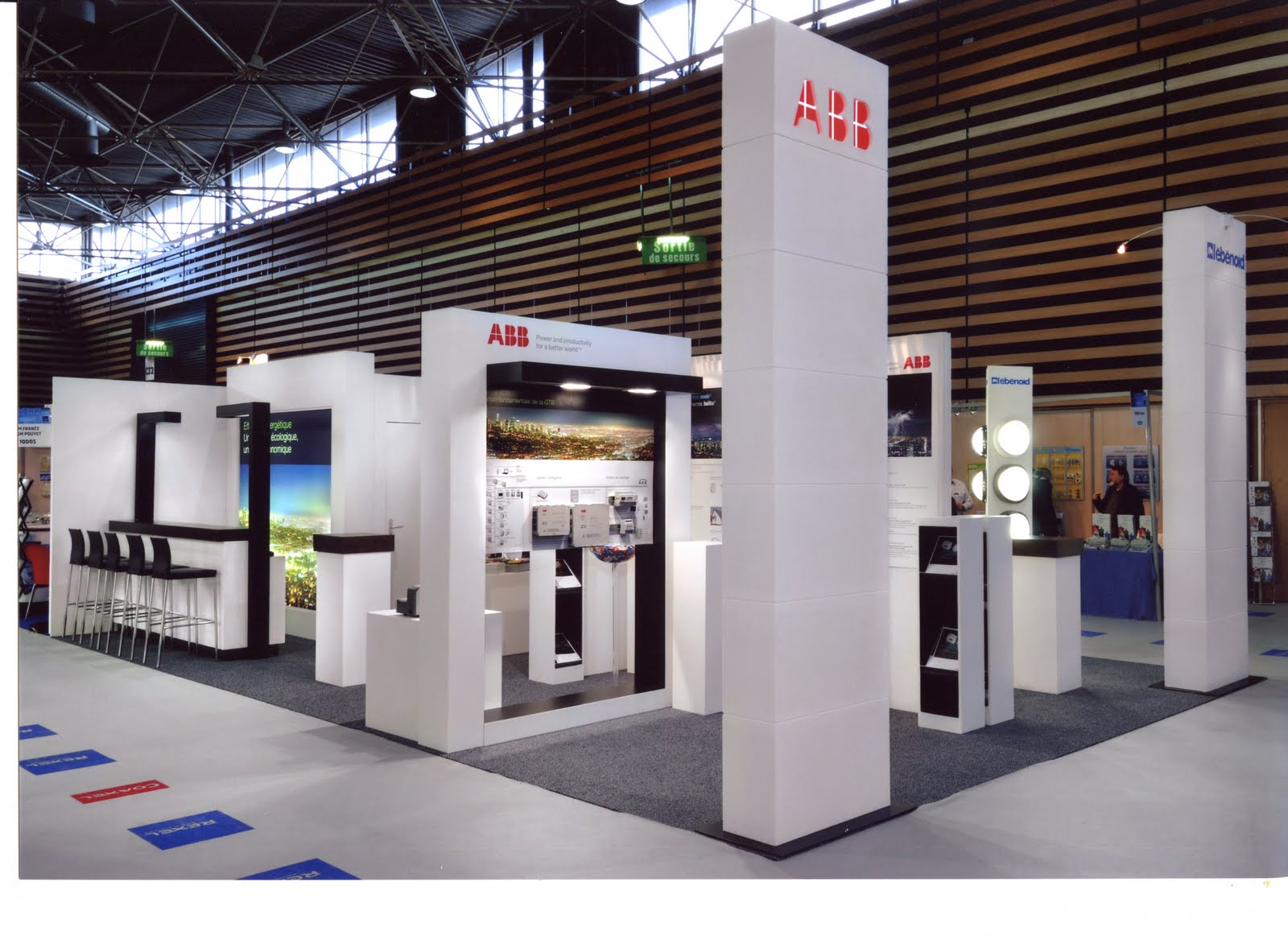 Design de l 39 v nement abb salon enr eurexpo lyon for Salon eurexpo lyon