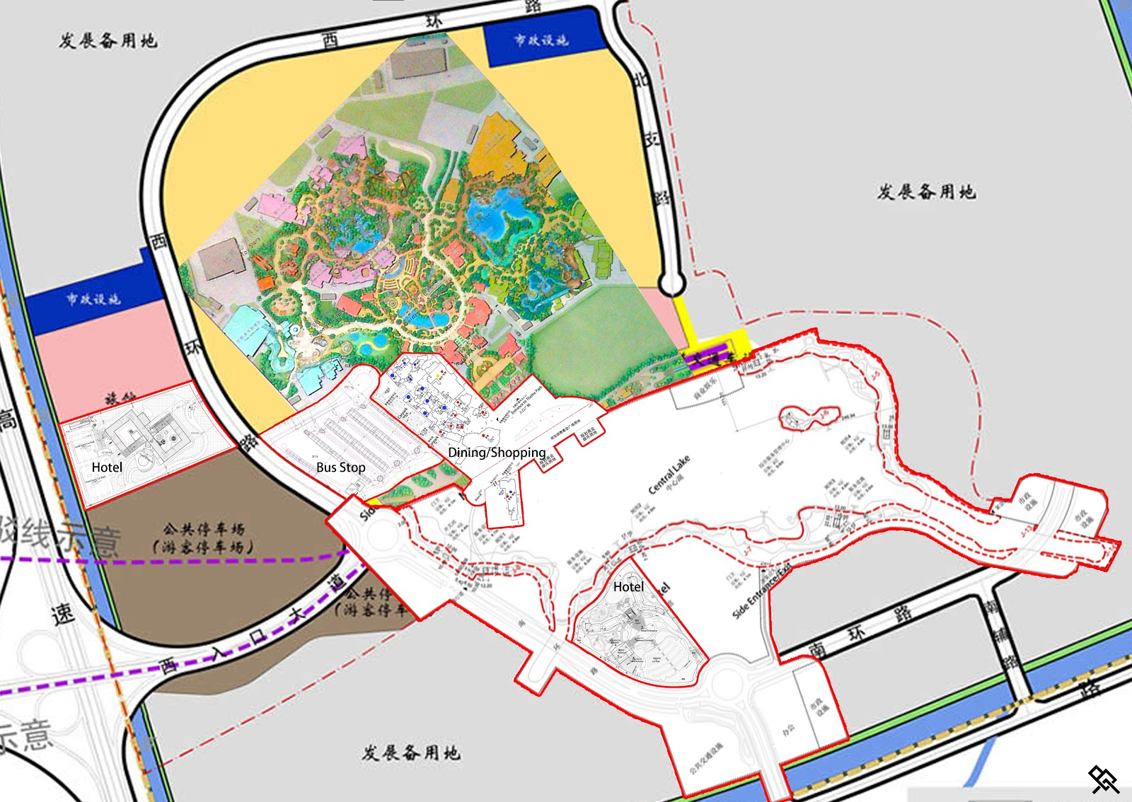 Look forward to the emergence of disneyland in shanghai for Story about future plans