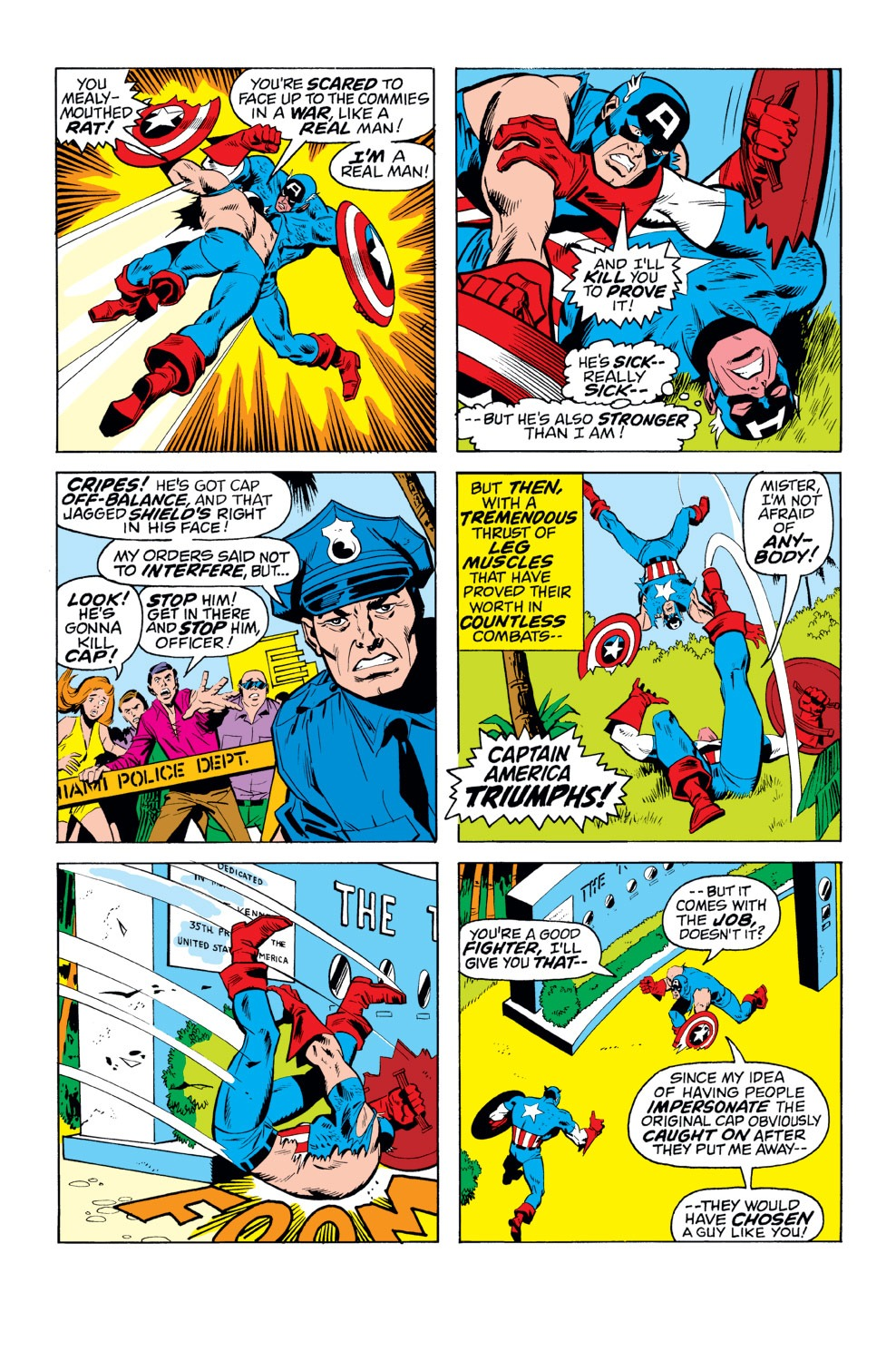 Captain America (1968) Issue #156 #70 - English 18