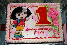 Eisya 1st Birthday