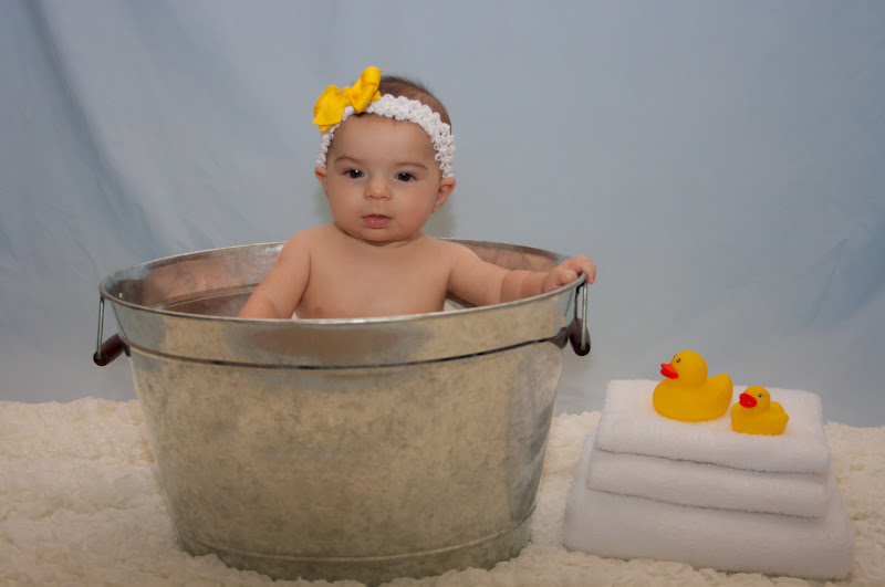 Stansel Journey: Kayla is 6 Months Old!