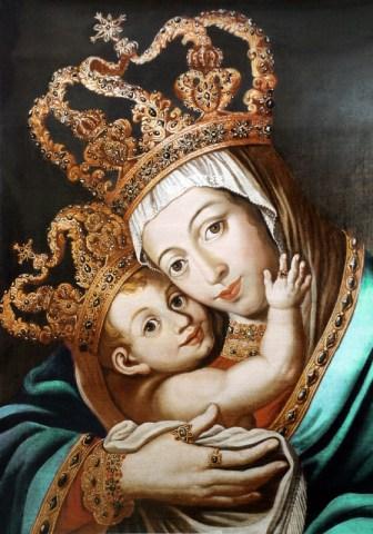 Nossa Senhora das Alegrias, nossa Rainha e nossa Mãe Amada.
