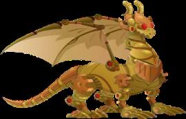 imagen del dragon steampunk adulto