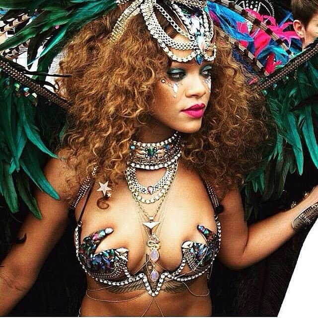 image Rihanna at barbados festival 2013