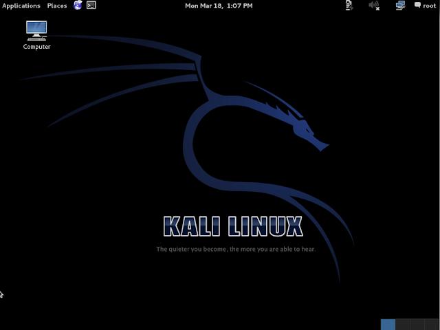 Kali Linux 桌面