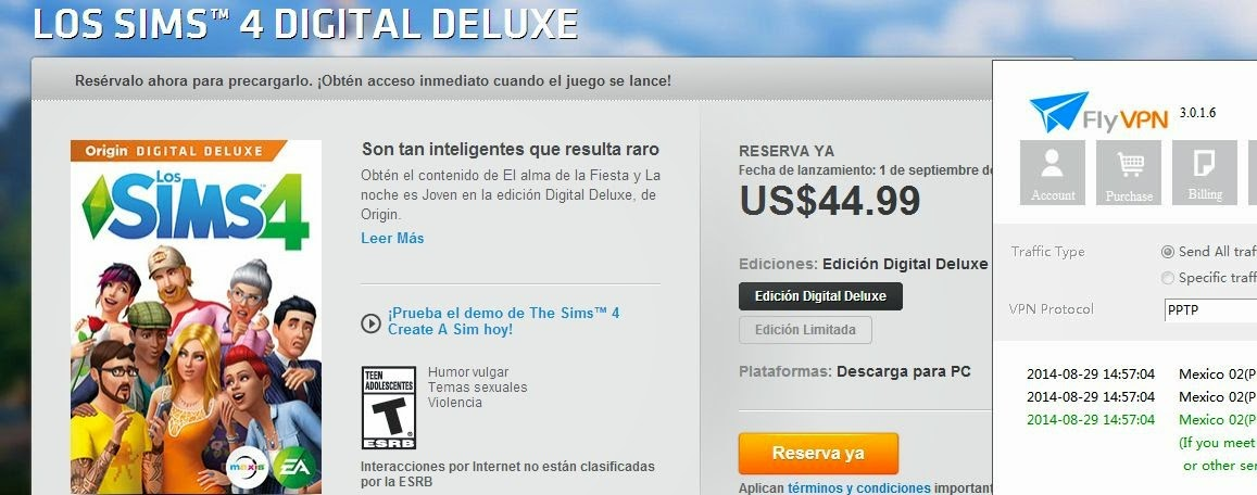 SIMS 4 Digital Deluxe in Mexician Origin Store
