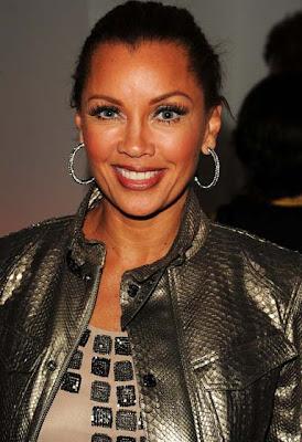 Vanessa Williams Diamond Hoop Earrings