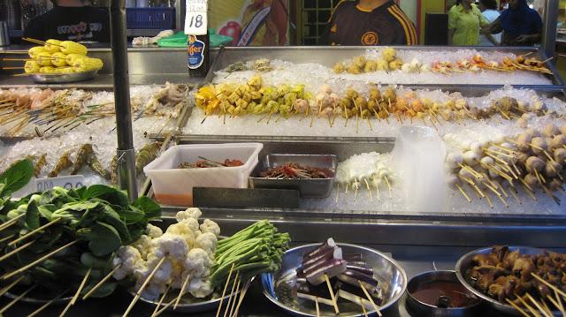Puestos de comida en Kuala Lumpur