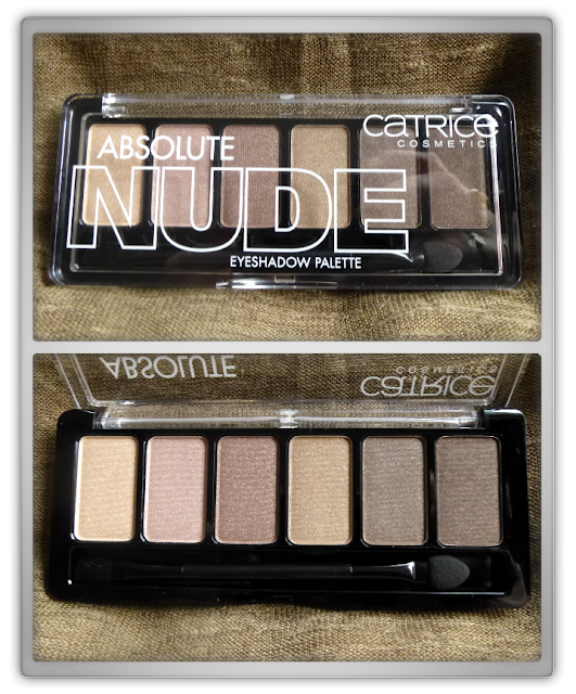 Catrice Absolute Nude eyeshadow palette