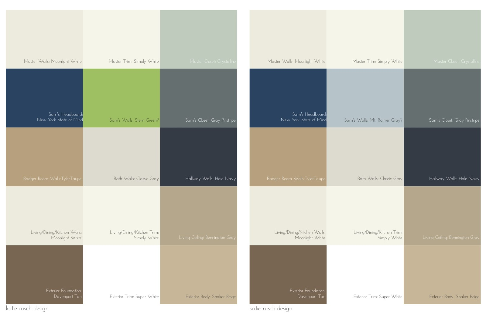 Gorgeous whole house color schemes 11 top images homes for Whole house neutral paint colors