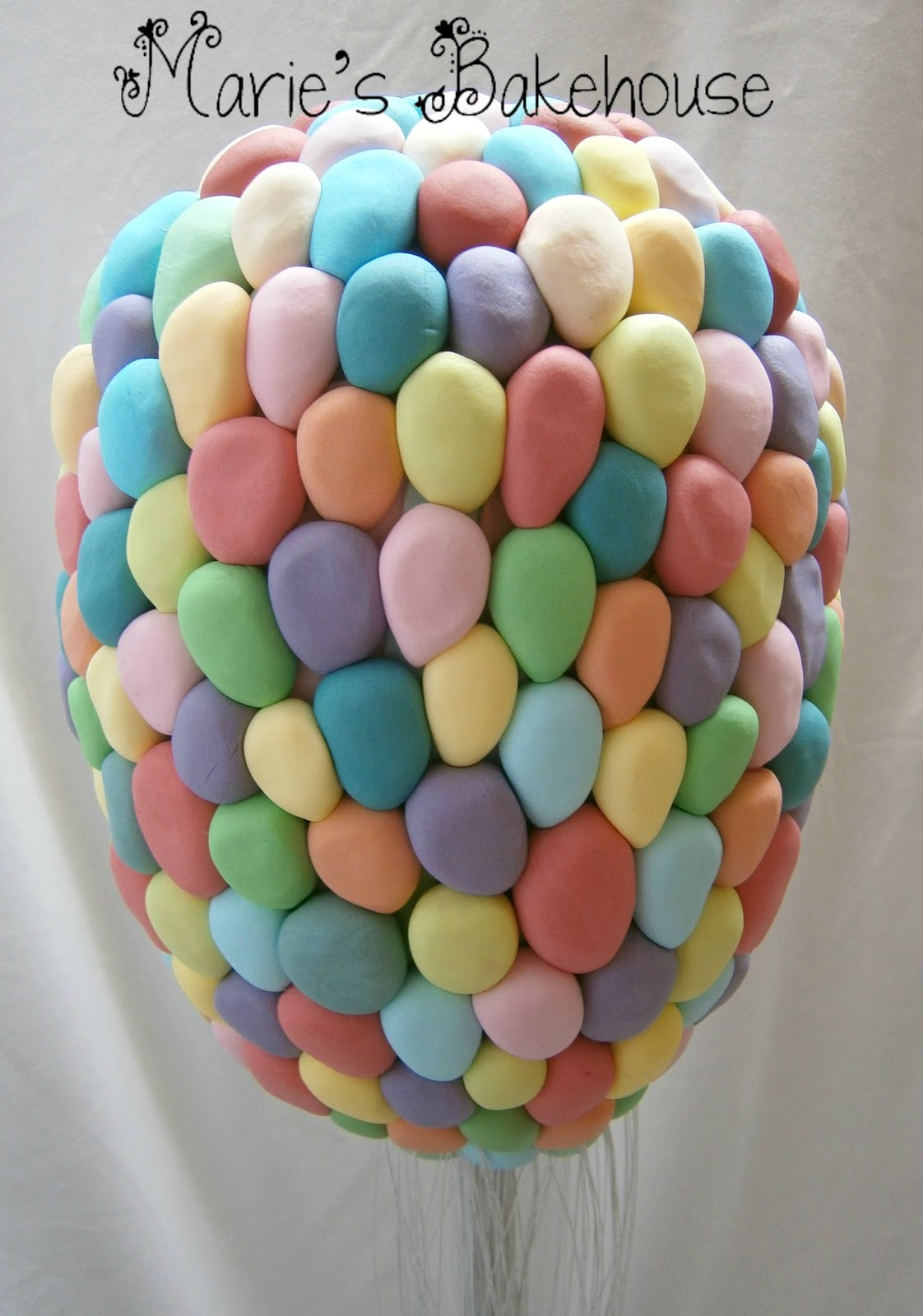 Up House Balloons Maries Bakehouse How To Make A Floating Up House Cake Part 3