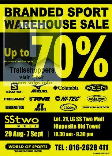 World of Sports Branded Sportwear Warehouse Sale sstwo mall