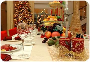 Fotos decoração de Natal - Dicas para ceia de Natal