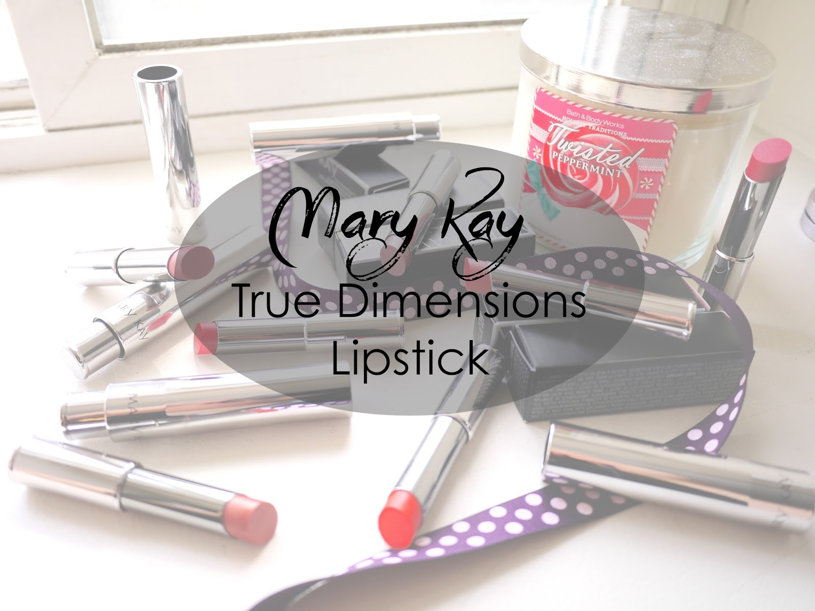 Mary Kay True Dimensions Lipstick swatch review