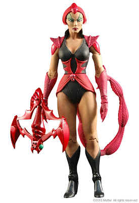 Mattel Matty Collector Masters of the Universe Classics Scorpia - 2014 Subscription Figure