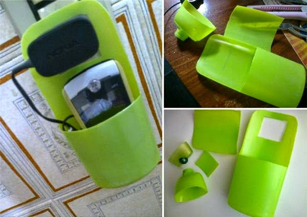 Creative Holder for Charging Cell Phone 2