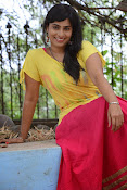 Aparna Glam pics in yellow top-thumbnail-2