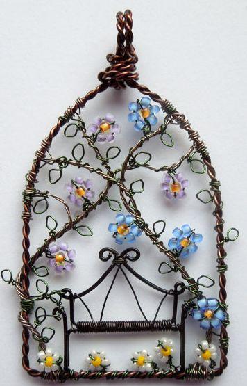 unique wire wrapping artwork
