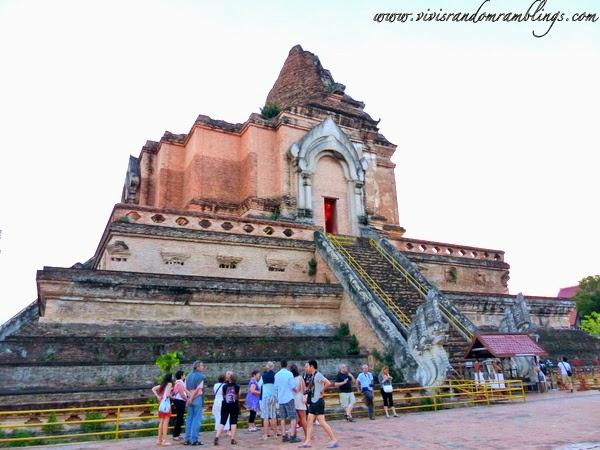 Wat Chedi Luang (Temple of the Big Stupa), Chiang Mai Thailand