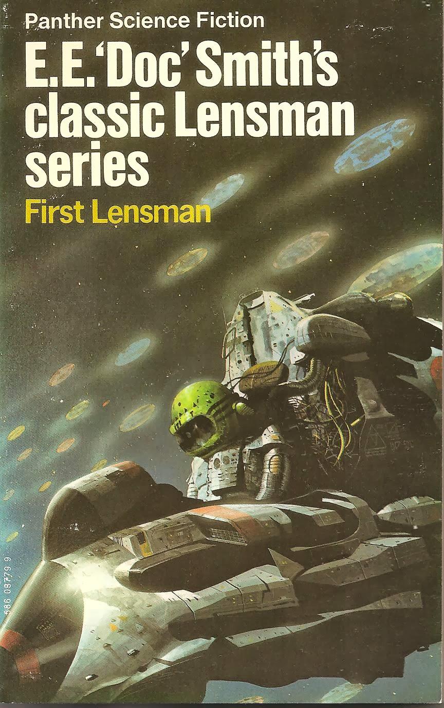 Book Cover Series Books : Huc gabet e 'doc smith s classic lensman series by